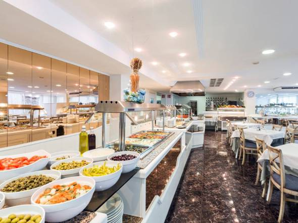 Restaurante buffet hotel don miguel playa palma